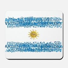 Textual Argentina Mousepad