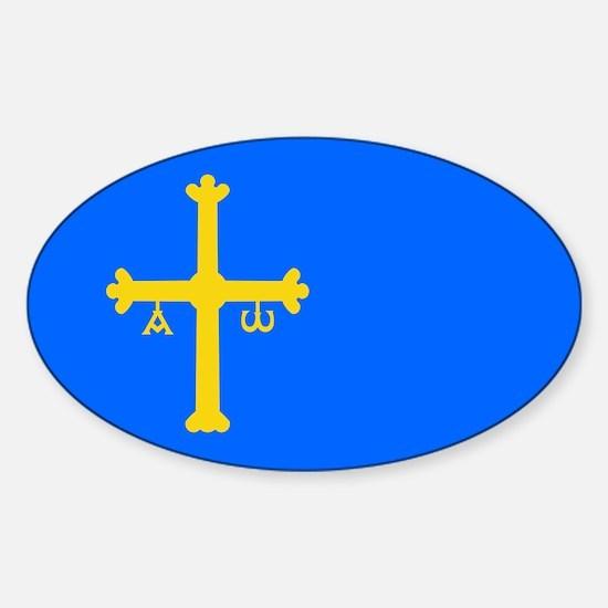 Bandera de Asturias - Flag of Asturias Decal