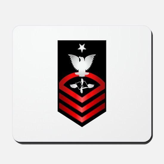 Navy Senior Chief Aviation Maintenance Mousepad
