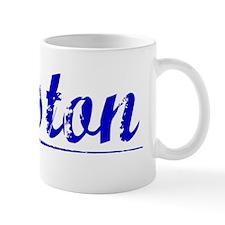 Weston, Blue, Aged Mug