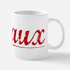 Breaux, Vintage Red Mug