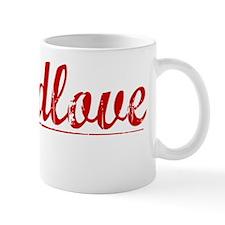 Breedlove, Vintage Red Mug