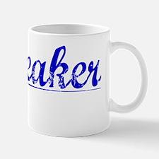 Whiteaker, Blue, Aged Mug