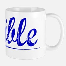 Wible, Blue, Aged Mug