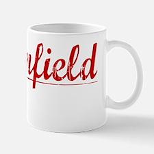 Brownfield, Vintage Red Mug