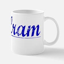 Wolfram, Blue, Aged Mug