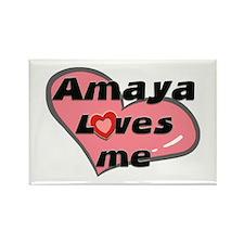 amaya loves me Rectangle Magnet