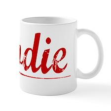 Brodie, Vintage Red Small Mug
