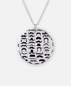 Know Your Staches Necklace