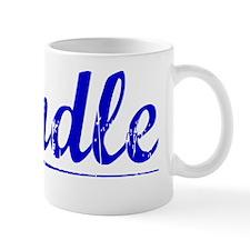 Windle, Blue, Aged Mug