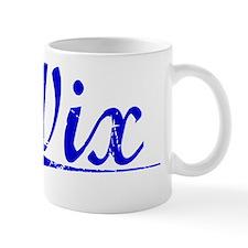 Wix, Blue, Aged Mug