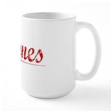 Briones, Vintage Red Mug