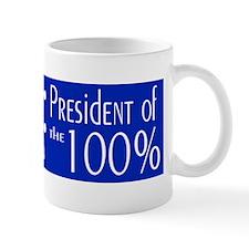 President of the 100% Mug