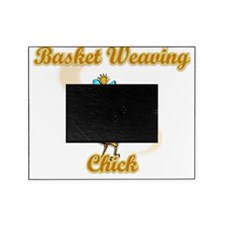 Basket Weaving Chick #2 Picture Frame