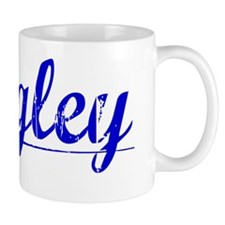 Wrigley, Blue, Aged Mug
