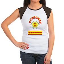 CHEROKEE INDIAN Women's Cap Sleeve T-Shirt
