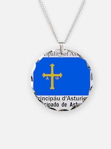 Asturias Necklace Circle Charm