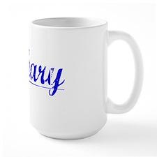 Zachary, Blue, Aged Mug