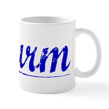Wurm, Blue, Aged Mug