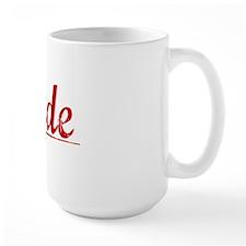 Cade, Vintage Red Mug