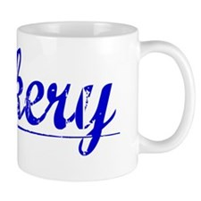 Zackery, Blue, Aged Mug