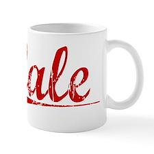 Cale, Vintage Red Mug
