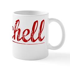 Burchell, Vintage Red Mug