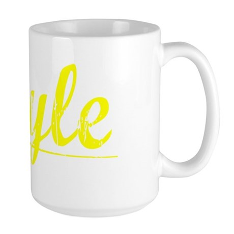 Boyle, Yellow Large Mug