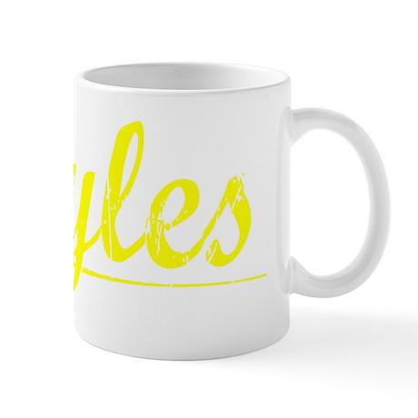 Boyles, Yellow Mug