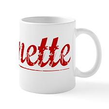 Burnette, Vintage Red Mug