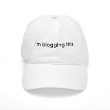 Blog Baseball Cap