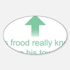 Hoopy Frood Decal