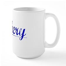 Zachery, Blue, Aged Mug