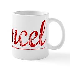 Cancel, Vintage Red Mug