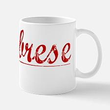 Calabrese, Vintage Red Mug