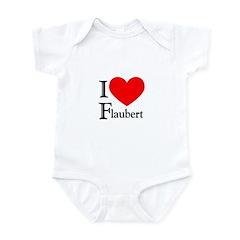 I Love Flaubert Infant Bodysuit