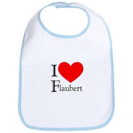 I Love Flaubert Bib