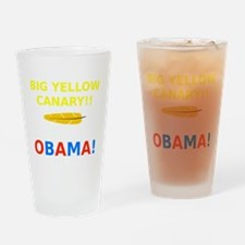 Big Yellow Canary Drinking Glass
