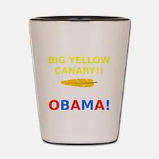 Big Yellow Canary Shot Glass
