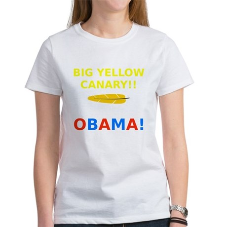 Big Yellow Canary Women's T-Shirt