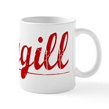 Cargill, Vintage Red Mug