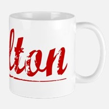 Calton, Vintage Red Mug