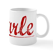 Carle, Vintage Red Mug
