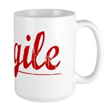 Cargile, Vintage Red Mug