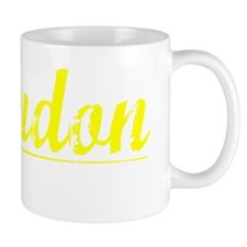 Brandon, Yellow Mug