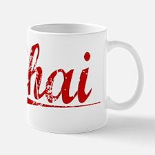 Chai, Vintage Red Mug