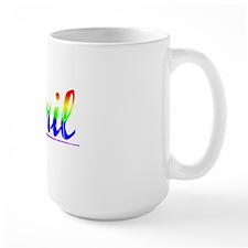 Abril, Rainbow, Mug