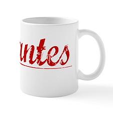 Cervantes, Vintage Red Mug