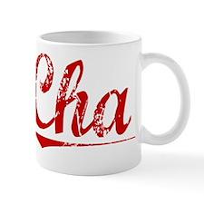 Cha, Vintage Red Mug