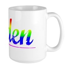 Alden, Rainbow, Mug